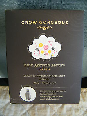 Grow Gorgeous Hair Growth Serum Intense 60ml Bargain Buy  All In Price £29.99
