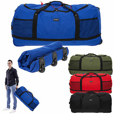 Trolley NEW REBELS Rollreisetasche ROLLINGBAG XXL 80 cm Trolly Bag faltbar WAHL