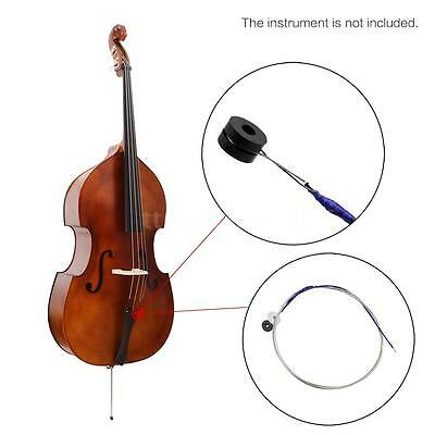 Full Set (G-D-A-E) Double Bass String Strings Steel Core Nickel Ball End T8F1