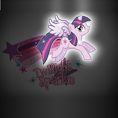 My Little Pony Twilight Sparkle Mini 3D Led Wall Light Kids Bedroom Lighting New