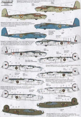 Xtradecal X72188 1/72 Yanks with Roundels Part 5 Model Decals