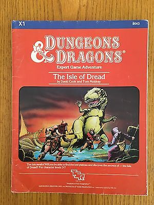 Dungeons & Dragons Module - X1 The Isle Of Dread - D&D TSR