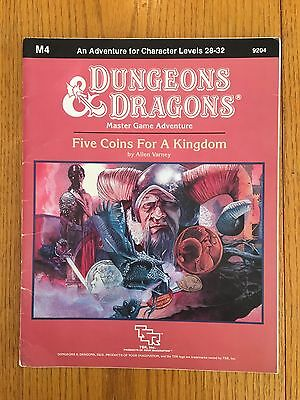 Dungeons & Dragons - M4 Five Coins For A Kingdom - D&D TSR