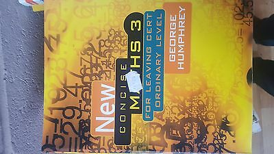 New Concise Maths 3 - Leaving Cert Ordinary Level - George Humphrey