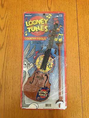 RARE Vintage Looney Tunes Bugs Bunny Country Fiddle (c)1991 - NEW