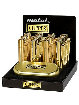 ROSE GOLD Clipper Metal Lighter with Rose gold Gift Tin LIMITED EDITION