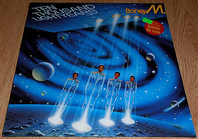 Boney M - Ten Thousand Lightyears LP German press 1984 Hansa - 206 555-620