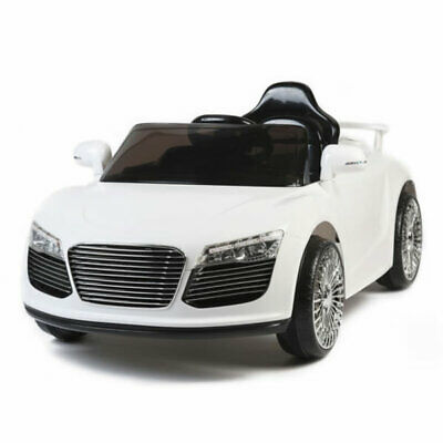 Audi R8 Style 12v Kids Ride on Toy Car with Parental Remote Control - Black