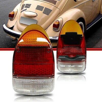 PAIR   6705-B Air Cooled VW Beetle Tail Light Assy Seal 68-70
