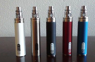 2200mAh Ego2 II Electronic 510 threaded Battery Different Colors Free Shipping