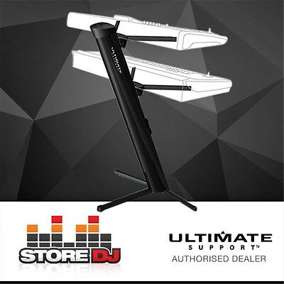 Ultimate Support APEX AX-48 Pro Plus 2-Tier Keyboard Stand w/ Mic Ulti-Boom & To