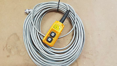 HY 1022 hoist winch pendant control and cable 20m