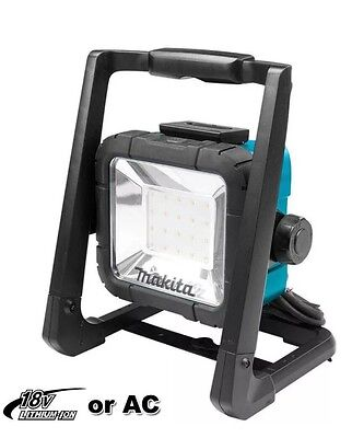 Makita 18V Li-ion Cordless & Corded LED Area Flood Work Light  DML805