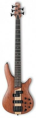 New Ibanez Electric Bass SR755-NTF Natural Flat Free Shipping From Japan