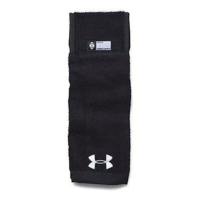 Under Armour Men's Undeniable Player Towel, Black/Black, One Size