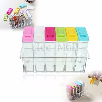 Spice Jar Kitchen Condiment Box Spices Storage Seasoning Boxes Food Container