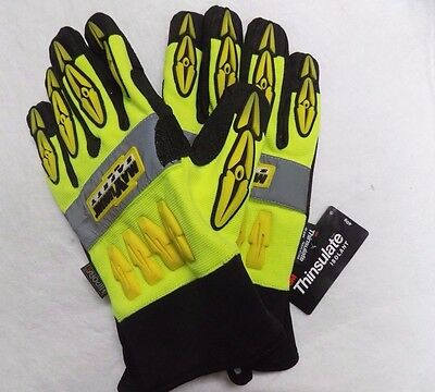 Maximum Safety 120-407XL Mad Max Professional Workmans Gloves Thinsulate Lining