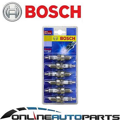 Set of 6 Bosch Platinum Spark Plugs for Commodore VX VY 6cyl V6 3.8L 2000~2004