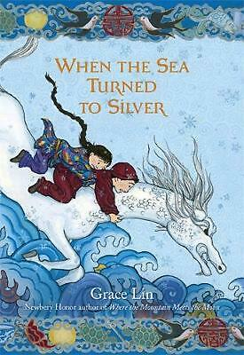 When the Sea Turned to Silver by Grace Lin Hardcover Book (English)