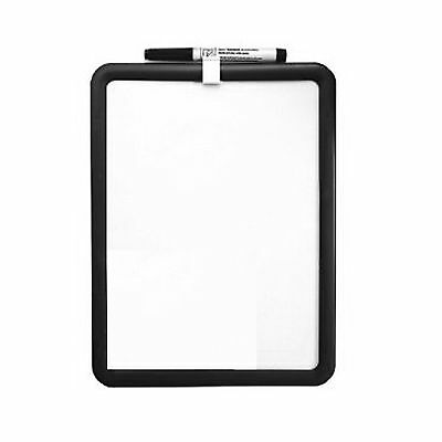 New A4 Size Dry Wipe Whiteboard Memo Note Notice Board Magnetic Mount And Pen