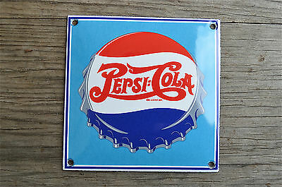 Heavy quality porcelain advertising sign fizzy soda cola garage plaque RA2