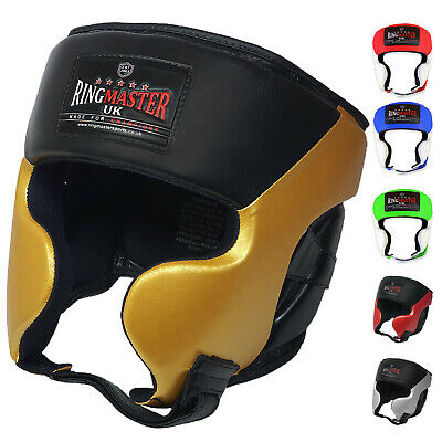 RingMaster UK Head Guard Gear Boxing MMA UFC Martial Arts Fight Protector Kick