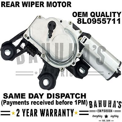 Rear Wiper Motor For Audi A3 8L1 A4 B5 A6 Allroad Vw Passat B5 8L0955711 **new**