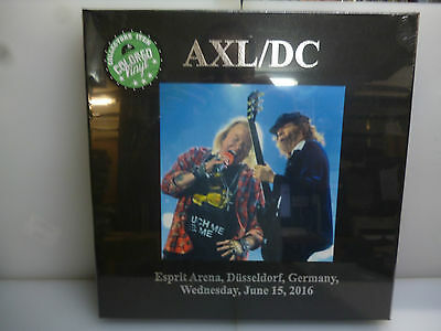 Ac/dc-Axl/dc. Germany 2016.-3Lp Green Vinyl Hardcover Boxset.-New Sealed