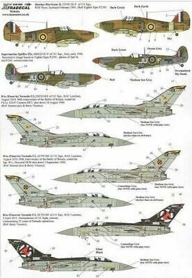 Xtradecal X48096 1/48 RAF 111 Squadron History Part 1 Model Decals