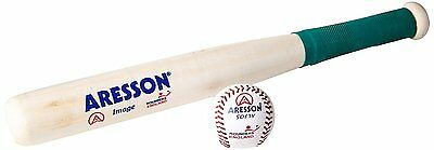 New Aresson Rounders Image Bat and Softy Ball PK