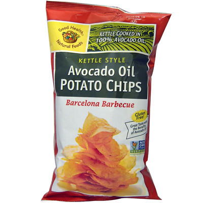 New Good Health Natural Foods Kettle Chips Avocado Oil Sea Salt Snacks Care