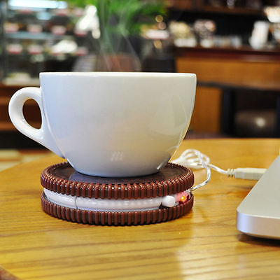Hot Cookie USB Cup Warmer - Keep Your Drink Warm - Mug Stand