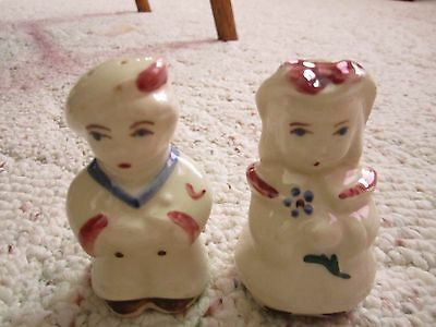 Shawnee Sailor/Boy Peep Salt & Pepper Shakers!!