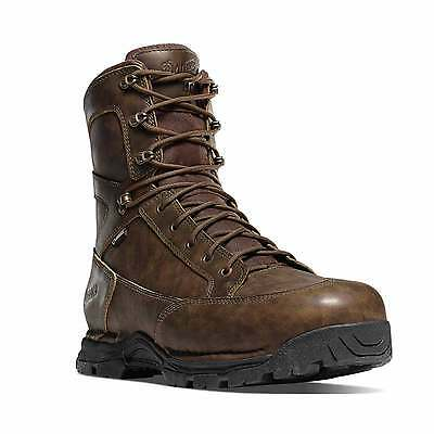 """Danner 45007 Men's 8"""" Pronghorn Brown All-Leather 400G Hunting Boots"""