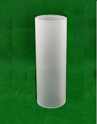 Cylindrical Natural Frosted Glass Lampshade (lighting tube cylinder)