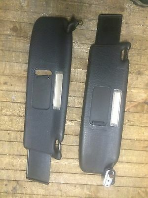 Audi 80 Coupe Cabriolet Black Sun Visors Double Mirrors Extensions