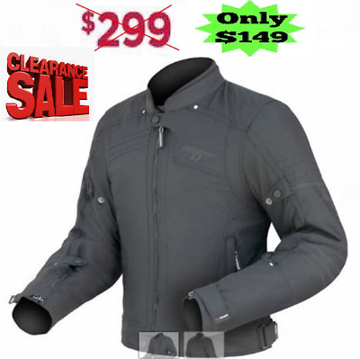 DRIRIDER SYMMETRY MOTORCYCLE JACKET NEW rrp $299! Current model Mens CASUAL ROAD