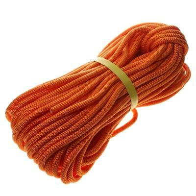 40 Meters Safety Rock Climbing Rigging Rappelling Survival Auxiliary Rope