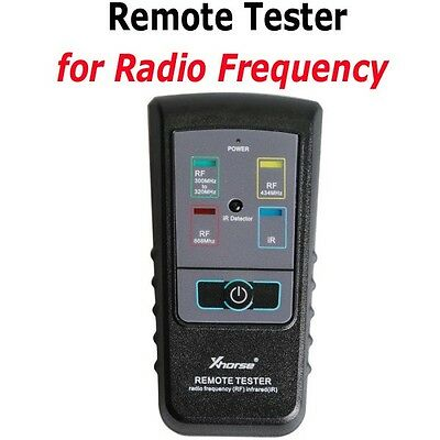 Nuovo Xhorse Remote Tester Radio Drequency(RF) Infrared(IR) Detect Frequency