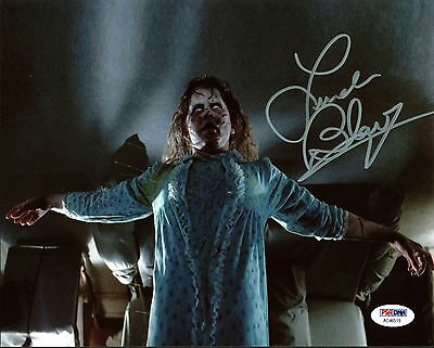 Linda Blair The Exorcist Authentic Signed 8X10 Photo Autographed PSA/DNA 9