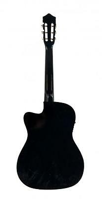 New Electric Acoustic Guitar Cutaway Design With Guitar Case, Strap, Tuner T4