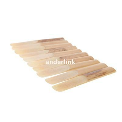 10pcs Clarinet Reed Strength 2.5 2-1/2 Reed Bamboo for Clarinet Accessories N9H3