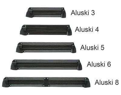 """Fabbri """"aluski"""" Ski & Snowboard Roof Carrier For 4 Pairs Of Skis / 2 Boards"""