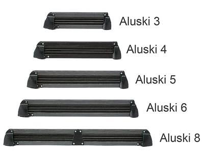 "Fabbri ""aluski"" Ski & Snowboard Roof Carrier For 8 Pairs Of Skis / 4 Boards"