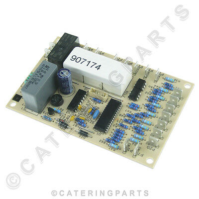 Silanos 907174 Electronic Timer Board Pcb For Lf50 Dc045 Dc060 Dishwasher 907175