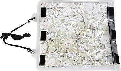 Highlander Roamer Map Case Cover Walking Hiking Black Clear View