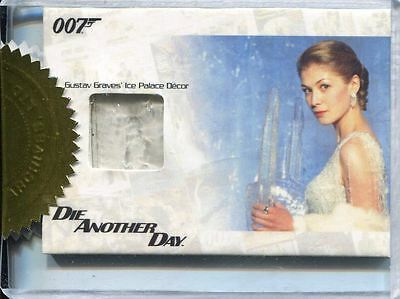 James Bond 50th Anniversary Series 1 Relic Card JBR27 Gustav Graves Ice Palace