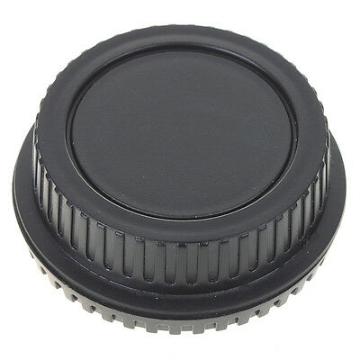 Enduring Best Body Cover + Lens Rear Cap for CANON Camera + Lens Protect