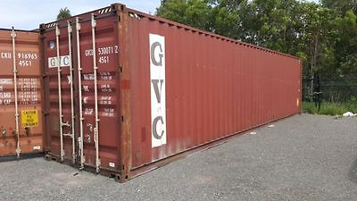 40HQ Shipping Container (High Cube) 40 ft- A Grade Used - Coolum Beach
