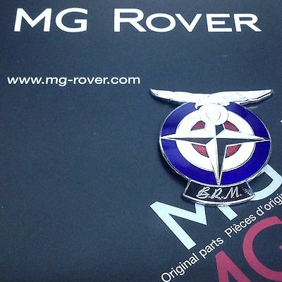 Genuine Rover Brm Limited Edition Enamel Wing Badge  Rare
